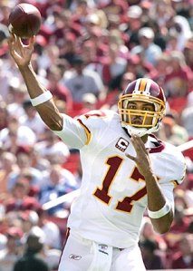 It's a make or break year for Campbell as the QB of the Skins offense.