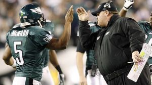 A look at the happy times between McNabb and Reid. Will they be giving their last high fives in Philadelphia this season?