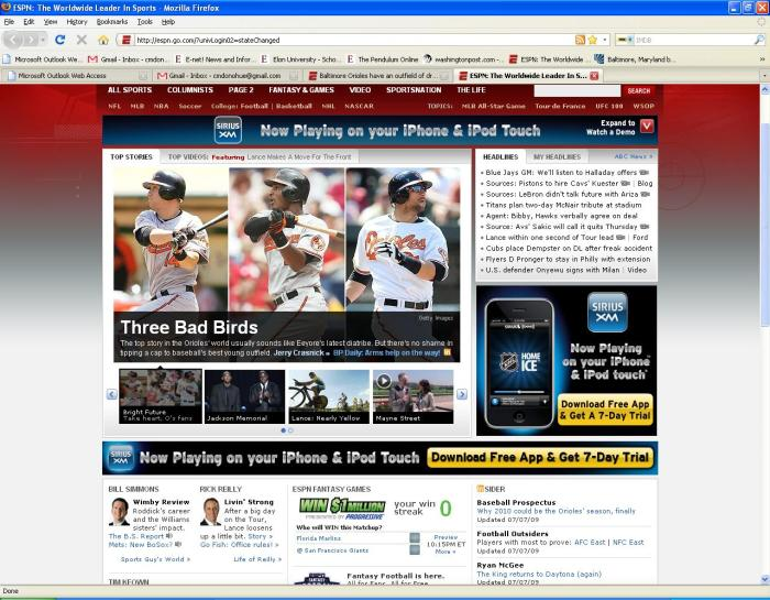 Here are the O's young outfielders on ESPN.com. I was ... What's the word? Oh yeah. FLABBERGASTED!