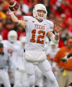 Will Colt McCoy be this year's Heisman Trophy winner? Or will it go to an erstwhile champion like Tim Tebow or Sam Bradford?