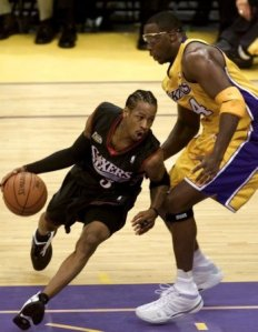 This is the Allen Iverson I choose to remember--the smallish guy who played with the toughness of a bigger man.