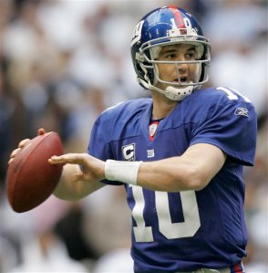 Eli Manning should lead the Giants to another NFC East title.