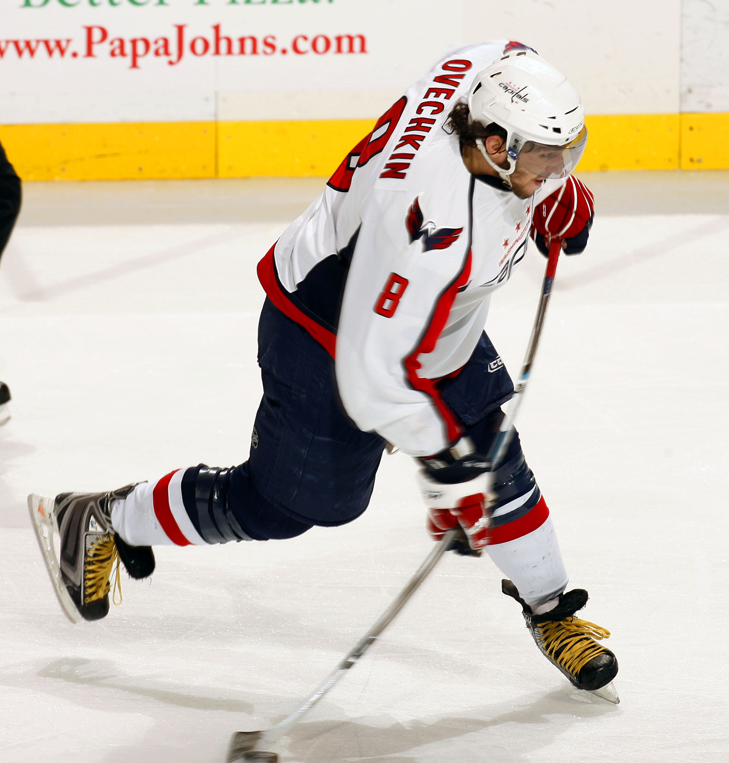 Uni Watch gets and exclusive look at Alex Ovechkin s custom skates 458d26a944